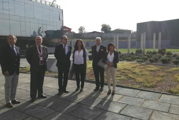 El Presidente de Copsa visita el hospital El Carmen Doctor Luis Valentín Ferrada de Maipú