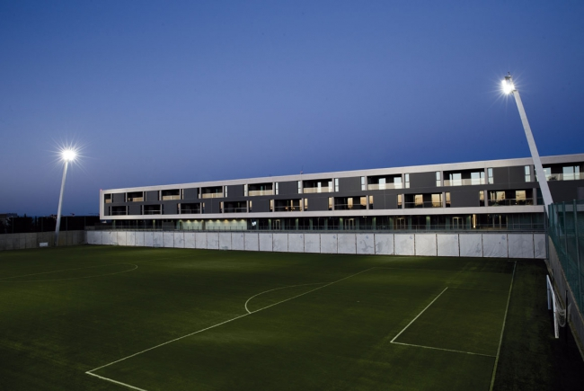 RESIDENCE OF REAL MADRID'S FIRST TEAM IN THE SPORTS CITY OF VALDEBEBAS