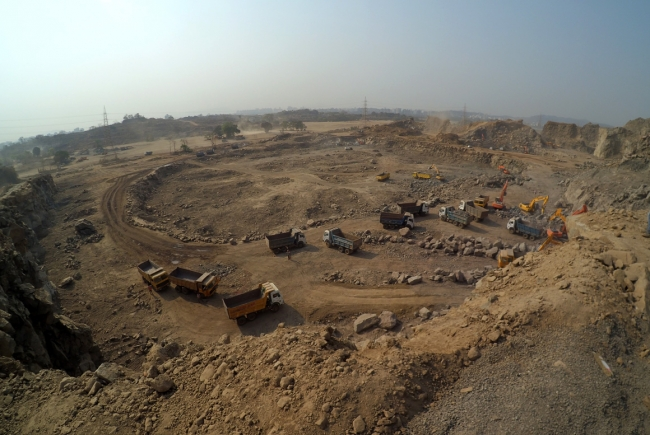 STAGE IV EARTHWORKS AND SOIL STABILISATION NEW AIRPORT NAVI MUMBAI